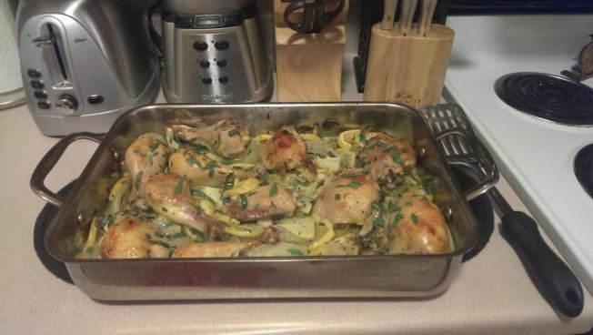 Lemon Tarragon Chicken